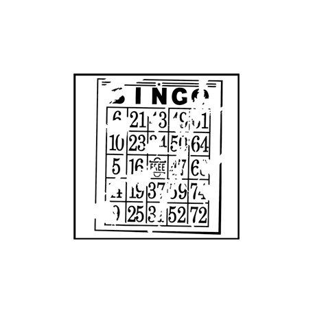 The Crafter's Workshop - 6 x 6 Doodling Templates - Mini Bingo