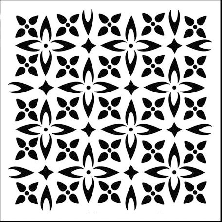 The Crafter's Workshop - 6 x 6 Doodling Templates - Mini Flower Piecing