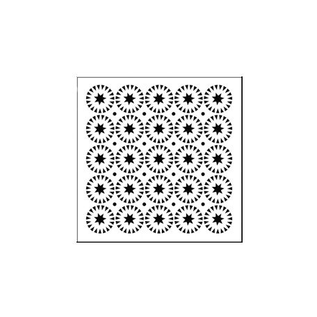 The Crafter's Workshop - 6 x 6 Doodling Templates - Mini Stars and Circles