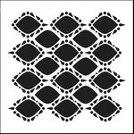The Crafter's Workshop - 12 x 12 Doodling Templates - Pointy Circles
