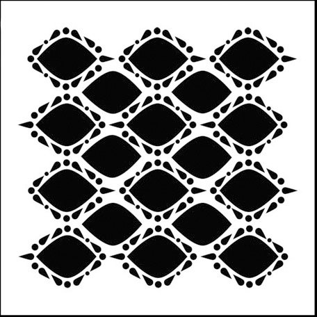The Crafter's Workshop - 6 x 6 Doodling Templates - Mini Pointy Circles