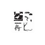 The Crafter's Workshop - 6 x 6 Doodling Templates - Mini Layered Bird Scene