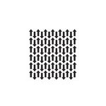 The Crafter's Workshop - 6 x 6 Doodling Templates - Mini Chevron Arrows