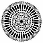 The Crafter's Workshop - 12 x 12 Doodling Templates - Mayan Calendar