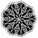 The Crafter's Workshop - 12 x 12 Doodling Templates - Bug Doily