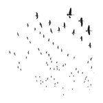 The Crafter's Workshop - 12 x 12 Doodling Templates - Flying Geese