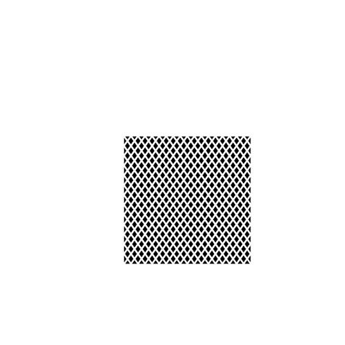 The Crafter's Workshop - 6 x 6 Doodling Templates - Mini Window Screen