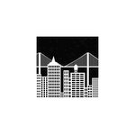 The Crafter's Workshop - 6 x 6 Doodling Template - Mini Cityscape