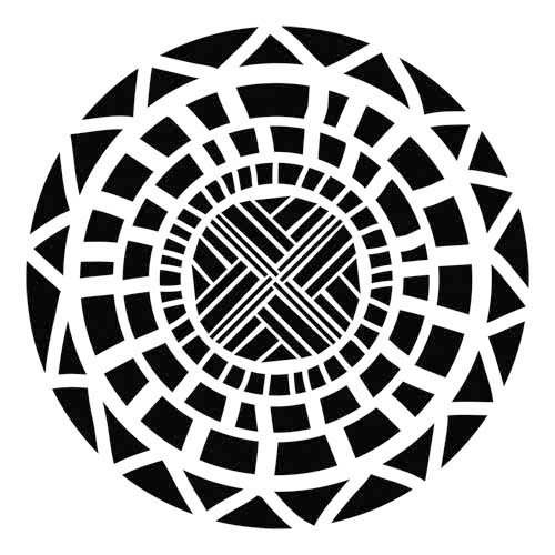 The Crafter's Workshop - 12 x 12 Doodling Template - Celtic Circle