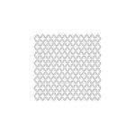 The Crafter's Workshop - 6 x 6 Doodling Template - Mini Quatrefoil