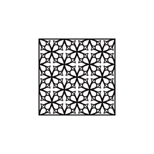 The Crafter's Workshop - 6 x 6 Doodling Template - Mini Garden Gate