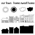 The Crafter's Workshop - 6 x 6 Doodling Template - Mini Sweet Home
