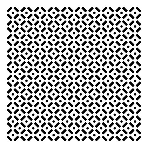 The Crafter's Workshop - 6 x 6 Doodling Template - Mini Dots and Dashes