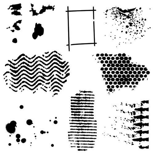 The Crafter's Workshop - 6 x 6 Stencils - Texturized