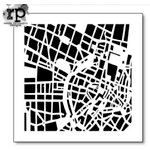 The Crafter's Workshop - 6 x 6 Doodling Template - City Grid