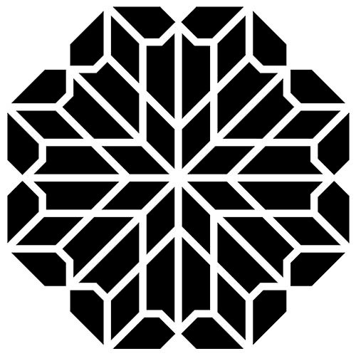 The Crafter's Workshop - 6 x 6 Doodling Template - Chrysanthemum