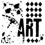 The Crafter's Workshop - 6 x 6 Doodling Template - Viva La Art