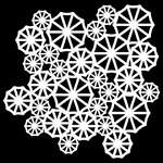 The Crafter's Workshop - 6 x 6 Doodling Templates - Mini Parasols