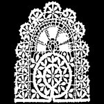The Crafter's Workshop - 12 x 12 Doodling Templates - Tatting