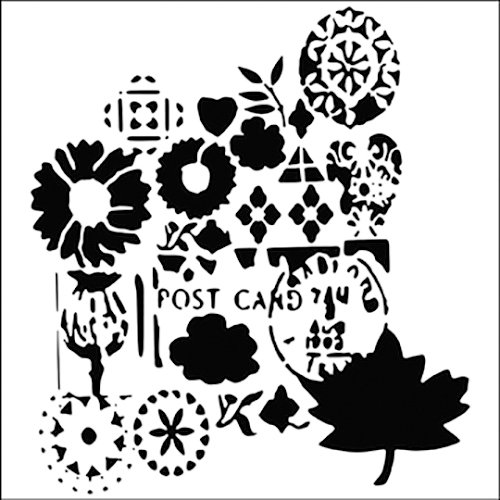 The Crafter's Workshop - 6 x 6 Doodling Templates - Mini Postcard