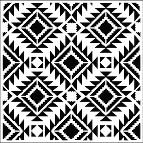 The Crafter's Workshop - 12 x 12 Doodling Templates - Rug