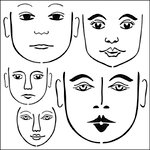 The Crafter's Workshop - 6 x 6 Doodling Templates - Mini Many Faces