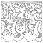 The Crafters Workshop - 6 x 6 Doodling Templates - Mini Lace