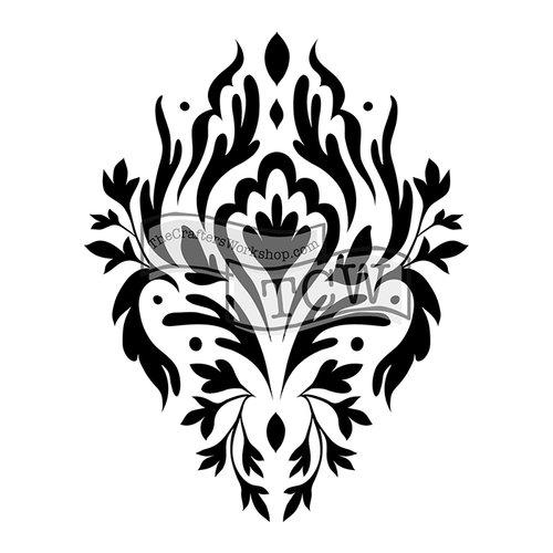 The Crafters Workshop - 6 x 6 Doodling Templates - Mini Elegant Motif