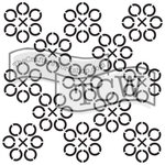 The Crafters Workshop - 12 x 12 Doodling Templates - Jax