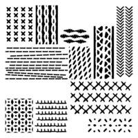 The Crafter's Workshop - 6 x 6 Stencils - Mini Stitched Art