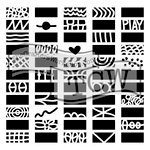 The Crafters Workshop - 12 x 12 Doodling Templates - Doodle Borders