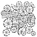 The Crafters Workshop - 12 x 12 Doodling Templates - Citrus Montage