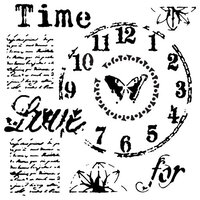 The Crafter's Workshop - 6 x 6 Stencils - Mini Time for Love