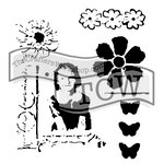 The Crafters Workshop - 6 x 6 Doodling Templates - Mini Class Picture
