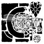 The Crafters Workshop - 6 x 6 Doodling Templates - Mini Rustic Portal