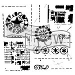 The Crafters Workshop - 6 x 6 Doodling Templates - Mini Brazen Star