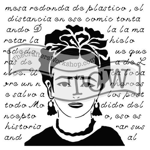 The Crafters Workshop - 6 x 6 Doodling Templates - Mini La Sonadora