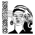 The Crafters Workshop - 12 x 12 Doodling Templates - Aztec Queen