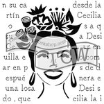 The Crafters Workshop - 6 x 6 Doodling Templates - Chica Florita