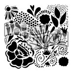 The Crafters Workshop - 6 x 6 Doodling Templates - Chica Doodle