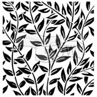 The Crafters Workshop - 6 x 6 Doodling Templates - Jungle Vines