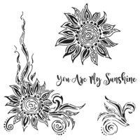 The Crafter's Workshop - 6 x 6 Stencils - My Sunshine