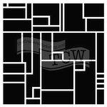The Crafter's Workshop - 12 x 12 Doodling Templates - Mondrian-esque