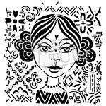The Crafters Workshop - 6 x 6 Doodling Templates - Amalia
