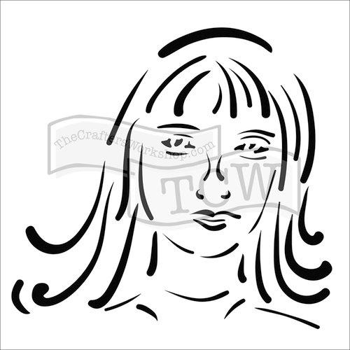 The Crafter's Workshop - 12 x 12 Doodling Templates - Natalie
