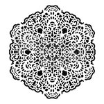The Crafters Workshop - 6 x 6 Doodling Templates - Octogonal Lace