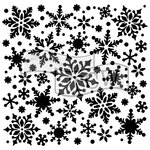 The Crafter's Workshop - 12 x 12 Doodling Templates - Snowflakes