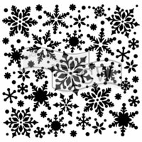 The Crafter's Workshop - 6 x 6 Doodling Templates - Snowflakes