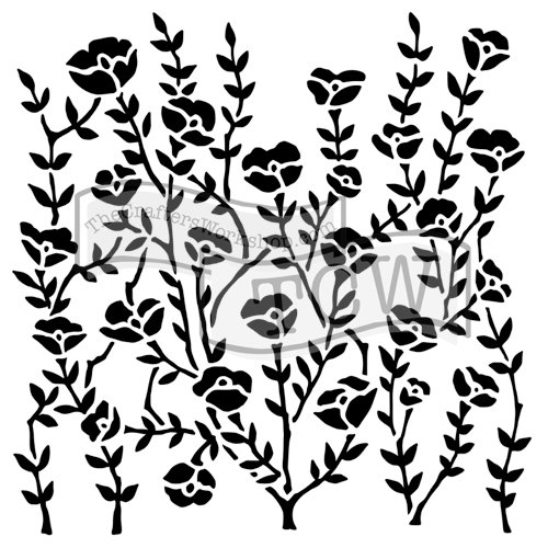 The Crafter's Workshop - 6 x 6 Doodling Templates - Wild Blooms