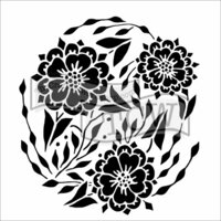 The Crafter's Workshop - 6 x 6 Doodling Templates - Flower Dance